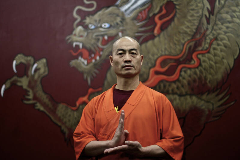 Shaolin monk in Manhattan teaches buddhism through martial arts