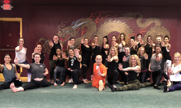 USA Shaolin Temple welcomed ambassadors of Carbon38