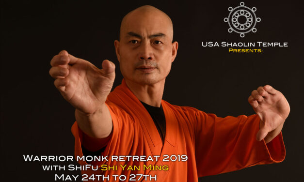 Shaolin Warrior Monk Retreat 2019